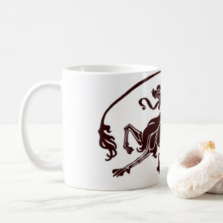 Black Dragon Design Coffee Mug