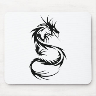 Black Dragon Mouse Pad