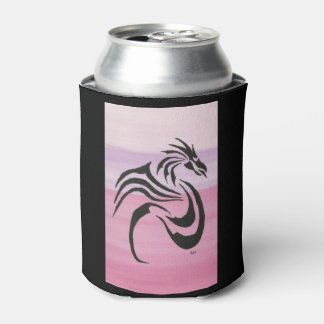 Black Dragon on Pinks Can Cooler