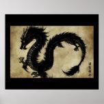 Black Dragon Poster