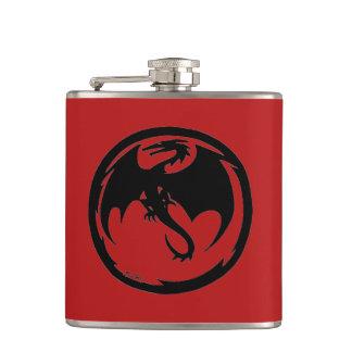 Black Dragon red flask