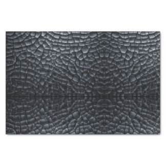 Black Dragon Scale Fantasy Gift Tissue Paper