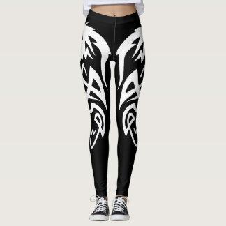 Black Dragon Tail Leggings