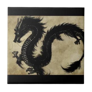 Black Dragon Tile