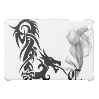 Black Dragon's Breath Monogram C iPad Cover