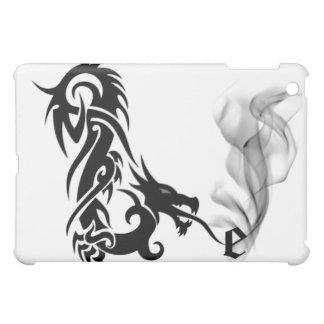 Black Dragon's Breath Monogram E iPad Cover