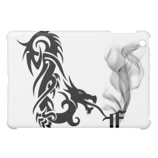Black Dragon's Breath Monogram F iPad Cover