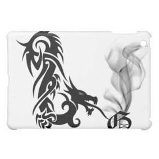 Black Dragon's Breath Monogram G iPad Cover