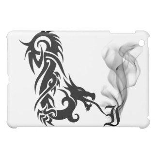 Black Dragon's Breath Monogram I iPad Cover