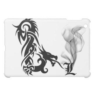 Black Dragon's Breath Monogram L iPad Cover