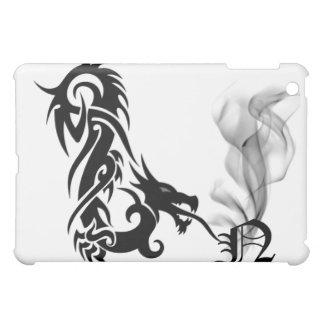 Black Dragon's Breath Monogram N iPad Cover