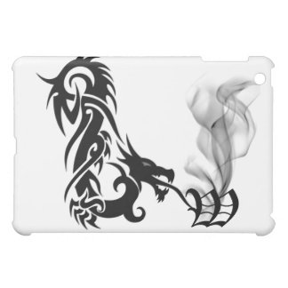 Black Dragon's Breath Monogram W iPad Cover