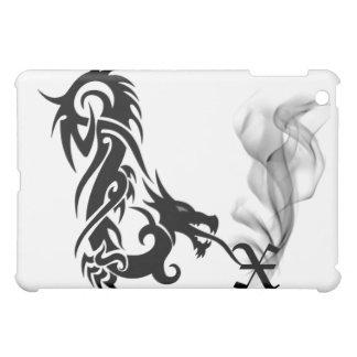 Black Dragon's Breath Monogram X iPad Cover
