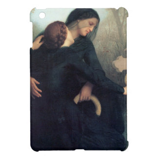 Black dress cross gothic women Bouguereau iPad Mini Covers