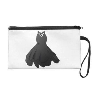 Black Dress Wrist Bag Wristlet