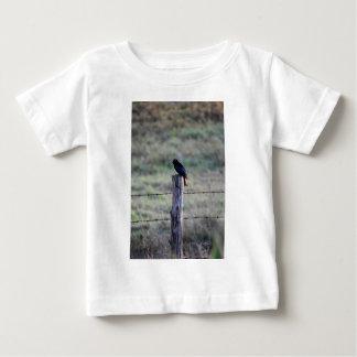 BLACK DRONGO ON POST RURAL AUSTRALIA INFANT T-Shirt