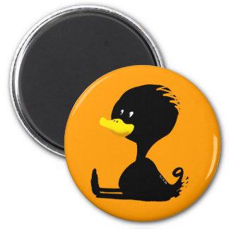 Black ducky magnet