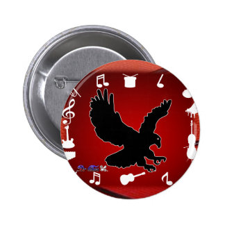 BLACK EAGLE MUSIC BACK CUSTOMIZABLE PRODUCTS PIN