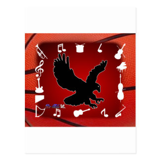 BLACK EAGLE MUSIC BACK CUSTOMIZABLE PRODUCTS POSTCARD