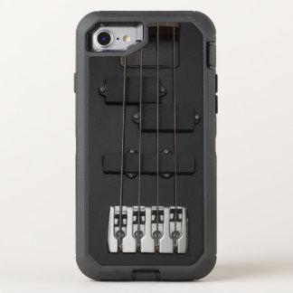 Black Electric Guitar OtterBox Defender iPhone 8/7 Case