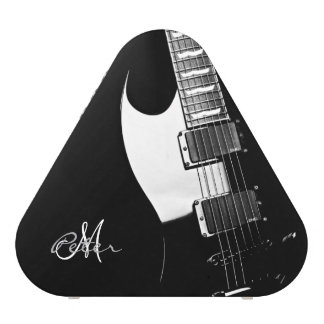 Black Electric Guitar Personalized Speaker