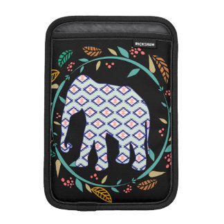 Black Elephant Folk Gypsy Hippie Popular Best iPad Mini Sleeve