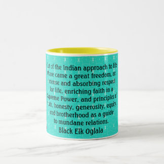 Black Elk mug