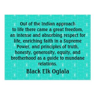 Black Elk postcard