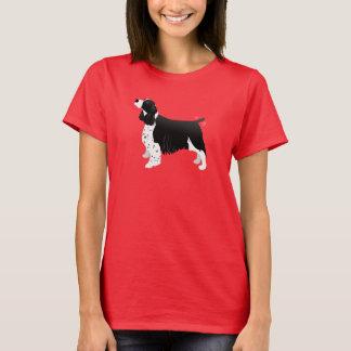 Black English Springer Spaniel Basic Breed T-Shirt