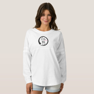 Black enso zen circle • Kindness kanji Spirit Jersey