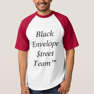Black Envelope Street Team shirt