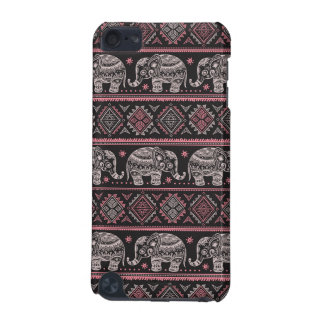 Black Ethnic Elephant Pattern iPod Touch (5th Generation) Cover