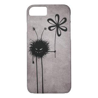 Black Evil Flower Bug Vintage iPhone 8/7 Case