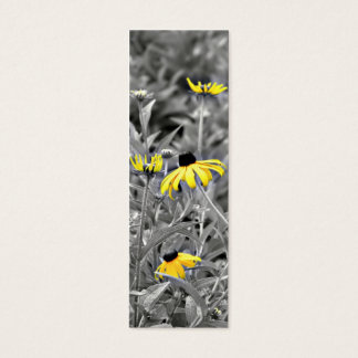 Black-eyed Susan Bookmark Mini Business Card