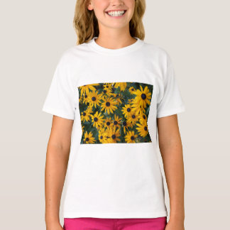Black-eyed Susan Flowers Kids T-shirt