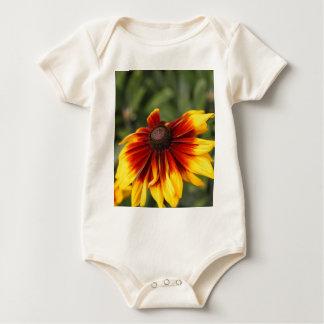 Black-eyed-Susan (Rudbeckia hirta) Baby Bodysuit