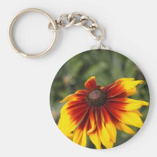 Black-eyed-Susan (Rudbeckia hirta) Key Ring