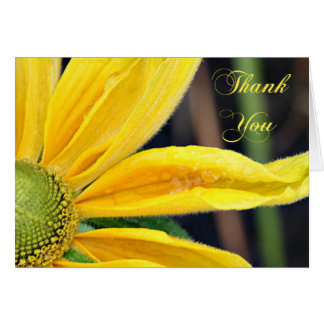 Black Eyed Susan Thank You Card