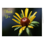 black eyed susan thank you note card