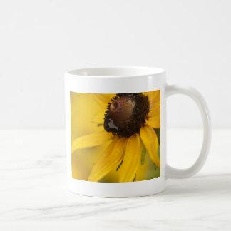 Black-Eyed Susan with a Teardrop Classic White Coffee Mug