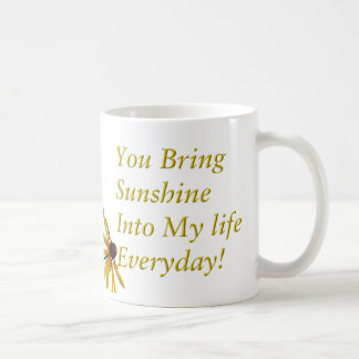 Black Eyed Susans, Daisies Coffee Mug