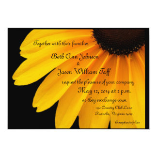 Black Eyed Susans  Theme Card