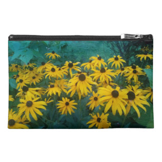 black eyed susans travel bag