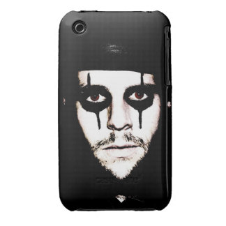 Black Eyes Brown Case-Mate iPhone 3 Case