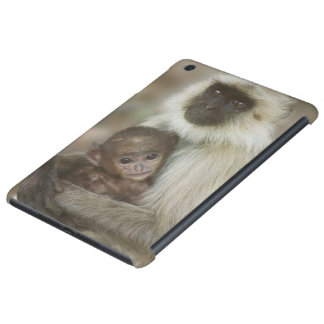 Black-face Langurs, mother with baby, in iPad Mini Retina Case