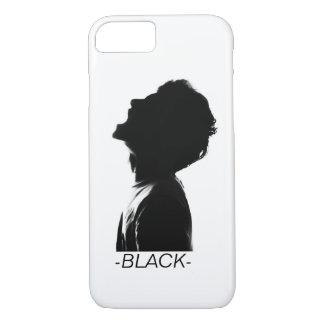 BLACK FACE PHONE-CASE // iPhone 8/7 CASE