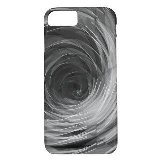 Black Faceted Swirl - Apple iPhone Case