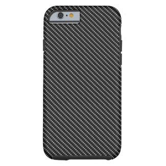 Black Fibre Base Tough iPhone 6 Case