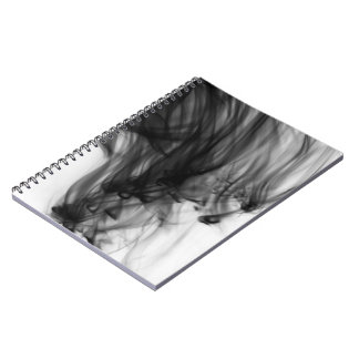 Black Fire I Notebook by Artist C.L. Brown