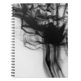 Black Fire II Notebook by Artist C.L. Brown